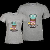 蛙蛙情侣-修身情侣装纯棉T恤