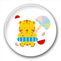 可爱的小老虎-5.8个性徽章