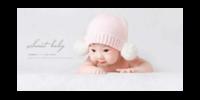 sweet baby 幸福甜蜜宝贝-15x30cm拉菲版画 横款