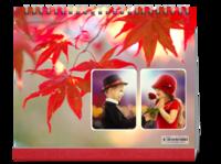 枫叶红了-10寸单面印刷台历