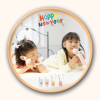 happy new year-4.4个性徽章