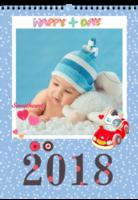 快乐2018-A3挂历