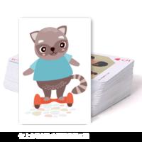 可爱卡通-双面定制扑克牌