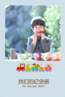 宝贝纪念册 萌宝 亲子生活写真集  图文可替换-8x12双面水晶印刷照片书20p