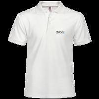 幸运数字7polo衫,蓝色经典简洁大方,公司制服,团队制服,团结就是力量,-男款纯色POLO衫