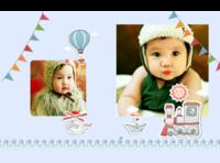 宝宝成长礼物-硬壳精装照片书22p