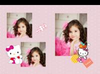 Pink  princess-A4硬壳照片书24P