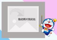高档机器猫哆啦A梦叮当猫-彩边拍立得横款(18张P)