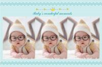 宝贝的精彩时刻 -H8Baby's wonderful moments710-24寸横式海报