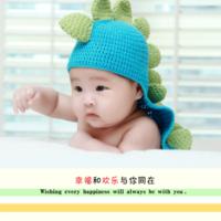 幸福的童年 快乐的宝贝-8x8双面水晶印刷照片书30p