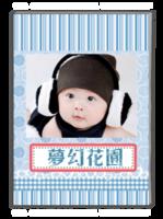 梦幻花园-萌娃-宝贝-照片可替换-A4杂志册(40P)