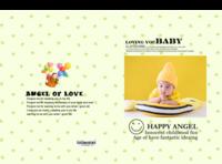 天使宝贝-萌娃-宝贝-照片可替换-8x12对裱特种纸30p套装