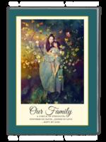 欢乐一家亲(封面封底及内页图片可替换)-A4杂志册(40P)