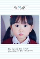 可爱萌宝(页内外照片可替换)-8x12双面水晶印刷照片书32p