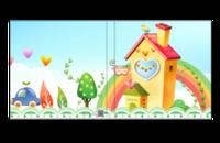 儿童乐园(记录宝宝的成长岁月)-8x8照片书