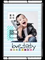 爸妈的爱(照片可换ZZC)-A4杂志册(40P)