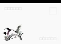 江苏浙江商务人文文化水墨中国风礼物-全景明信片(横款)套装