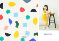 彩色童年 宝宝成长纪念册-8x12高清绒面锁线56p