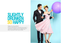 快乐无限-时尚婚纱模板-青葱岁月照片书