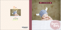 可爱韩风-宝贝的百天纪念 祈愿宝宝长命百岁-8x8轻装文艺照片书40p