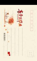 MX38毕业聚会纪念 记录 青春校园 简洁个性-全景明信片(竖款)套装