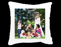 狗年吉祥-温馨全家福(图片可换)-短皮绒面双面抱枕