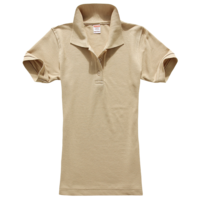 技术测试-女款纯色POLO衫