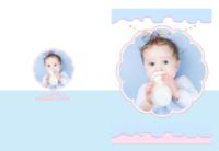 宝宝之梦幻童话-8x12高清绒面锁线80P