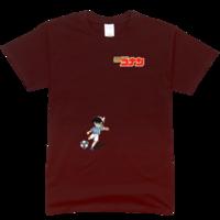 柯南/踢足球的柯南舒适彩色T恤