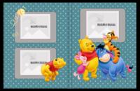 可爱的维尼小熊 宝宝册-6x8照片书