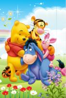 维尼熊跳跳虎-定制lomo卡套装(25张)