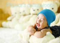 蓝色可爱小王子 童年快乐时光6181142(图可换)-7寸木版画横款