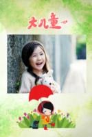 大儿童 亲子  萌宝 生活写真集 图文可替换-8x12双面水晶印刷照片书20p