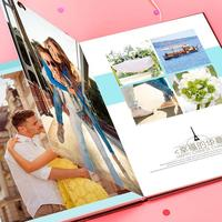 自由DIY-8x12印刷单面水晶照片书21p