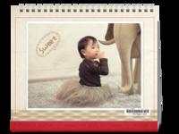 甜心宝贝-10寸横款单月双面台历(7页)