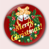 圣诞节的礼物-4.4个性徽章