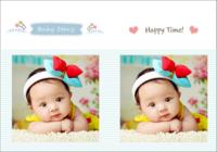 Baby Story(记录宝贝成长的点滴)-我们的纪念册22p
