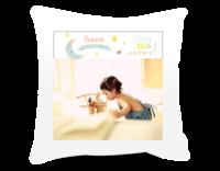 宝贝的美好时光 成长记录 快乐宝宝-短皮绒面双面抱枕