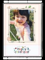 快乐童年(样片可换)-A4杂志册(32P)