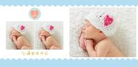 清新版 可爱萌宝成长记亲子宝贝(大容量相册)0810-爱的礼物照片书