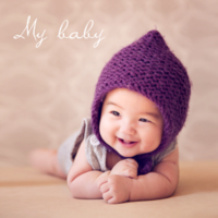 my baby萌宝童年成长记 童年的精彩时光-8x8双面水晶银盐照片书20p