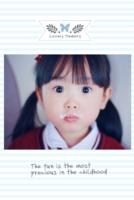可爱萌宝(页内外照片可替换)-8x12双面水晶银盐照片书22p