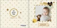 星星的耳语-超百搭-宝宝成长足迹(封面照片文字可更改)-8x8轻装文艺照片书40p