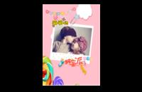 糖果派,萌萌哒小精灵。可爱的宝贝-8x12印刷单面水晶照片书20p