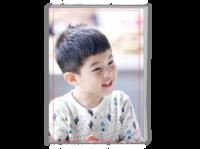 爸爸去哪儿安吉—沙俊伯萌娃写真(礼物)-A4时尚杂志册(26p)