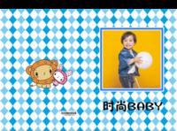 时尚BABY-亲子-快乐宝贝-可爱兔子-卡通(照片可换)-硬壳精装照片书22p