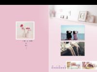 新品闺蜜时代-A4硬壳精装照片书30p