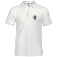印花 航海 皇冠 T恤印花 航海 皇冠-男款纯色POLO衫