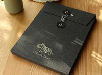 DIY手风琴式小动物相册  手工自制粘贴式纪念册
