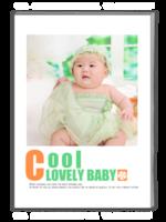 可爱酷宝贝-A4杂志册(40P)